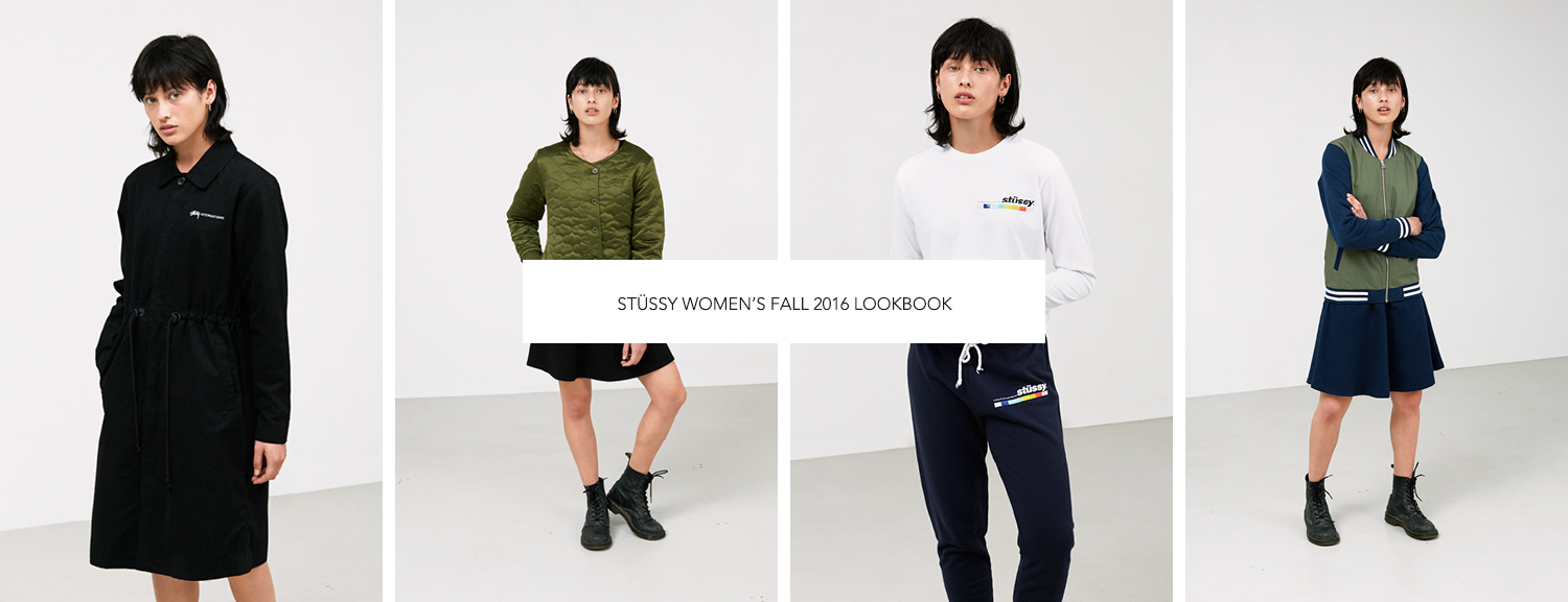 Stüssy Women's Fall 2016 Lookbook