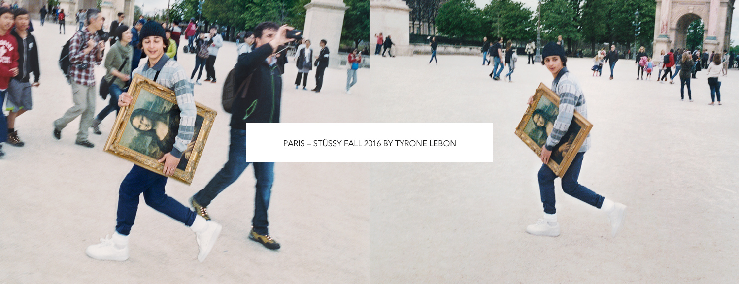 Paris – Stüssy Fall 2016 by Tyrone Lebon